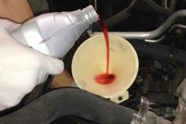 Замена масла в акпп хонда элемент своими руками 4